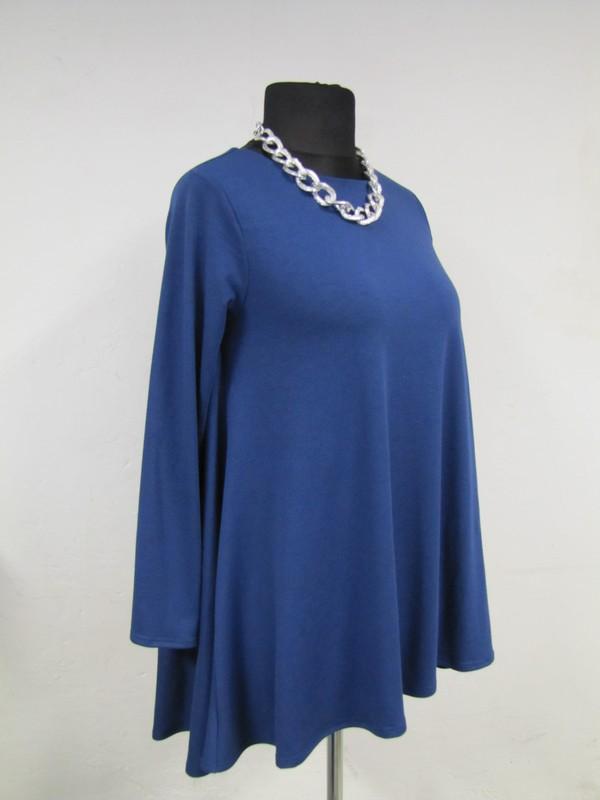 79c3c7ada14fd5 Sukienka Natalie - mocno rozkloszowana z dłuższym tyłem